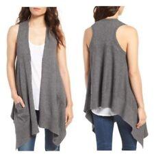 NWT Splendid Miramar drape sweater vest Sz S