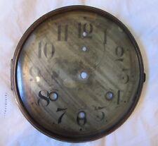 Antique Waterbury Mantel Clock Dial, Chime Clock, Original Part, Clock Parts