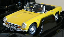 Triple9 1/18 Scale - Honda S800 Roadster Top Down Yellow - Diecast model car