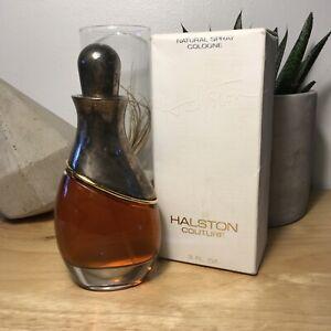 Halston Couture by Halston Eau de Cologne 3 oz / 90 ml New in Box, Vintage!
