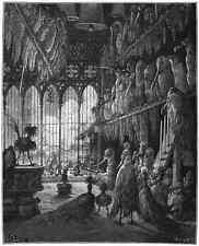 Gustave Dore gigantón Pantagruel 062 A4 Foto impresión