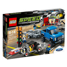 75875 LEGO Ford F-150 Raptor & Ford A Hot Rod Speed Champions Age 8-14 664 Pcs