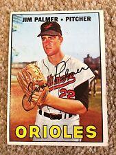 +++ JIM PALMER 1967 TOPPS BASEBALL CARD #475 - BALTIMORE ORIOLES +++
