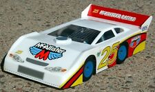 1/18 McAllister Late Model Body MINI-T associated RC18T MCA232