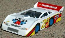 1/18 McAllister Late Model Body MINI-T associated RC18T MCA232