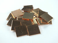 10pcs Laptop GPU CPU Heatsink Thermal Pad Copper Pad Copper Shim:15*15*0.8mm