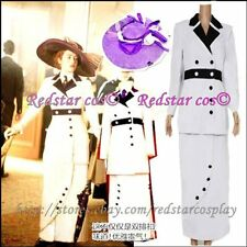 Titanic Rose Cosplay White Maiden Costume Dress - Custom Tailed in Any size