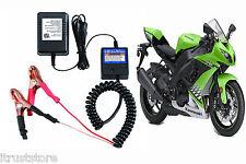 New Motorcycle 12 Volt Battery Maintainer Tender Trickle Float Smart Charger 12v