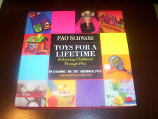 F.A.O. SCHWARTZ TOYS FOR A LIFETIME History Learning Skills Toy Develop Book NEW