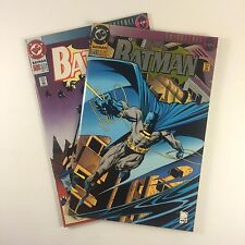 Batman #500 Set of 2 NM- Quesada Jones Aparo Collectors Edn. Die-Cut & 1st Print