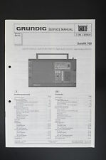 GRUNDIG Satellit 700 Weltempfänger Original Service-Manual/Diagram TOP o31