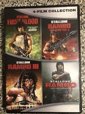 Rambo Complete Collection DVD Box Set First Blood II III 4 Movies Films