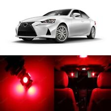 17 x Red LED Interior Lights For Lexus IS250 IS350 IS200t 2014 - 2018 + TOOL