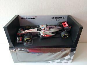 Minichamps 1/18 McLaren Mercedes Mp 4/27 J. Button - Showcar 2013 - 530131875