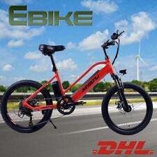 "20"" Electric Mountain Bike E-Bike 7 Speed 250W E-MTB 36V 8Ah Bicycle Citybike EU"