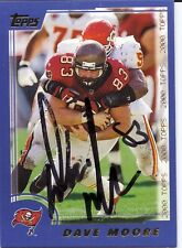 Dave Moore Tampa Bay Buccaneers/ Pittsburgh Personally Autographed Card