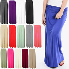 Unbranded Patternless Casual Plus Size Skirts for Women