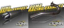 TRX450 Honda Doma Racing Exhaust Full System Silencer Stainless Header