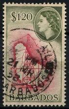 Barbados 1953-61 SG#300 $1.20 QEII Definitive Used #D43170