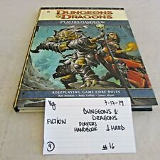 Dungeons & Dragons Player's Handbook Roleplaying Game Core Rules Hardcover 71719