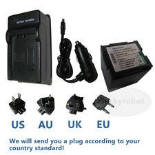BATTERIA + Caricabatteria per Hitachi DZ-GX5040E DZ-GX5060E DZ-MV730A HANDYCAM VIDEOCAMERA