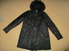 Schöne Street One Winterjacke Gr.38 40 Parka Jacke Mantel schwarz mit Pelz