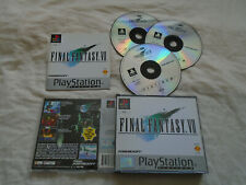 Final Fantasy 7 VII PS1 (COMPLETE) Sony PlayStation platinum RPG