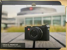 Leica CL Prime Kit. 24.2MP Mirrorless Camera + 18mm Lens + Battery + Grip