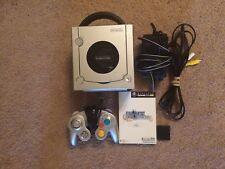 Region Free Modded GameCube Console + Final Fantasy Import + Memory Card LOT