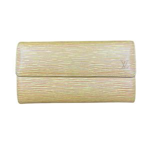 LV3185 LOUIS VUITTON Tassil Yellow Epi Leather Sarah Long Envelope Wallet USA