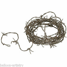 12ft Halloween Horror Party Rusty Barbed Wire Garland Decoration