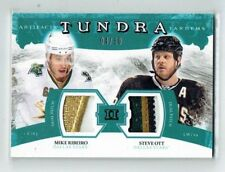 11-12 UD Artifacts Tundra Tandems  Mike Ribeiro--Steve Ott  /50  Dual Patches