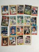 LOT of Topps baseball cards and more football Helena Brewers lou piniella reggie