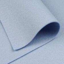 Woolfelt Robin's Egg Blue ~ 22cm x 90cm / quilting wool felt fabric light