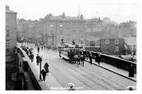 pt5279 - York , Horse Tram on Ouse Bridge , Yorkshire - photograph 6x4
