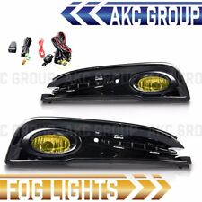Yellow Lens Fog Light Lamps Kit With Wiring For 2013-2015 Honda Civic 4-Door
