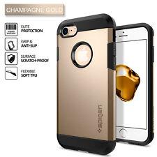 Genuine Spigen iPhone 7 Case Tough Armor Champagne Gold 042CS20490
