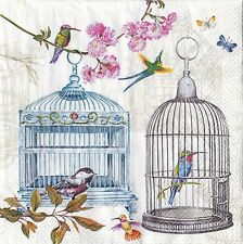 Picture Paper Napkins Ideal Home Range Bird Cages