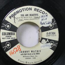 50'S & 60'S Promo 45 Johnny Mathis - You Are Beautiful / Let'S Love On Columbia