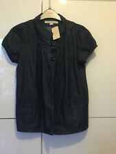 New Tags Vintage  Forever 21 Ladies Women's Shirt Blouse Top Jacket Denim SMALL