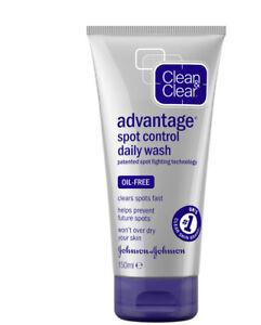 Clean & Clear Advantage Spot Control Daily Wash 150ml  BNIB