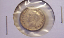 1950 CANADIAN DIME COIN  SILVER