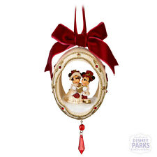 Authentic Disney Parks Victorian Christmas Ornament Holiday Egg