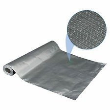 "Radiant Heat Floor Insulation 17"" wide 333 sqft, walls / PEX tubing Perforated"