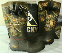 Rocky Sport Pro Rubber Waterproof Outdoor Men's Boot, RealTree Edge, RKS0400AC