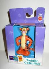 DISNEY MATTEL TODDLER COLLECTIBLE WINNIE THE POOH FRIEND TIGGER PVC FIGURE BOXED