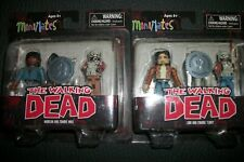 Walking Dead Mini-mates New sealed X 2, Toys R Us Exclusives