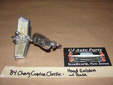 OEM 1984 84 Chevrolet Caprice Classic HOOD EMBLEM ORNAMENT BASE HEADER PANEL
