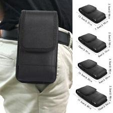 Universal Mobile Cell Phone Nylon Holster Black Pouch Holder Bag Cover Case 34US