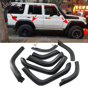 Fender Flares Wheel Arches Wide For Toyota Land Cruiser LC70 LC75 LC76 LC77 LC79